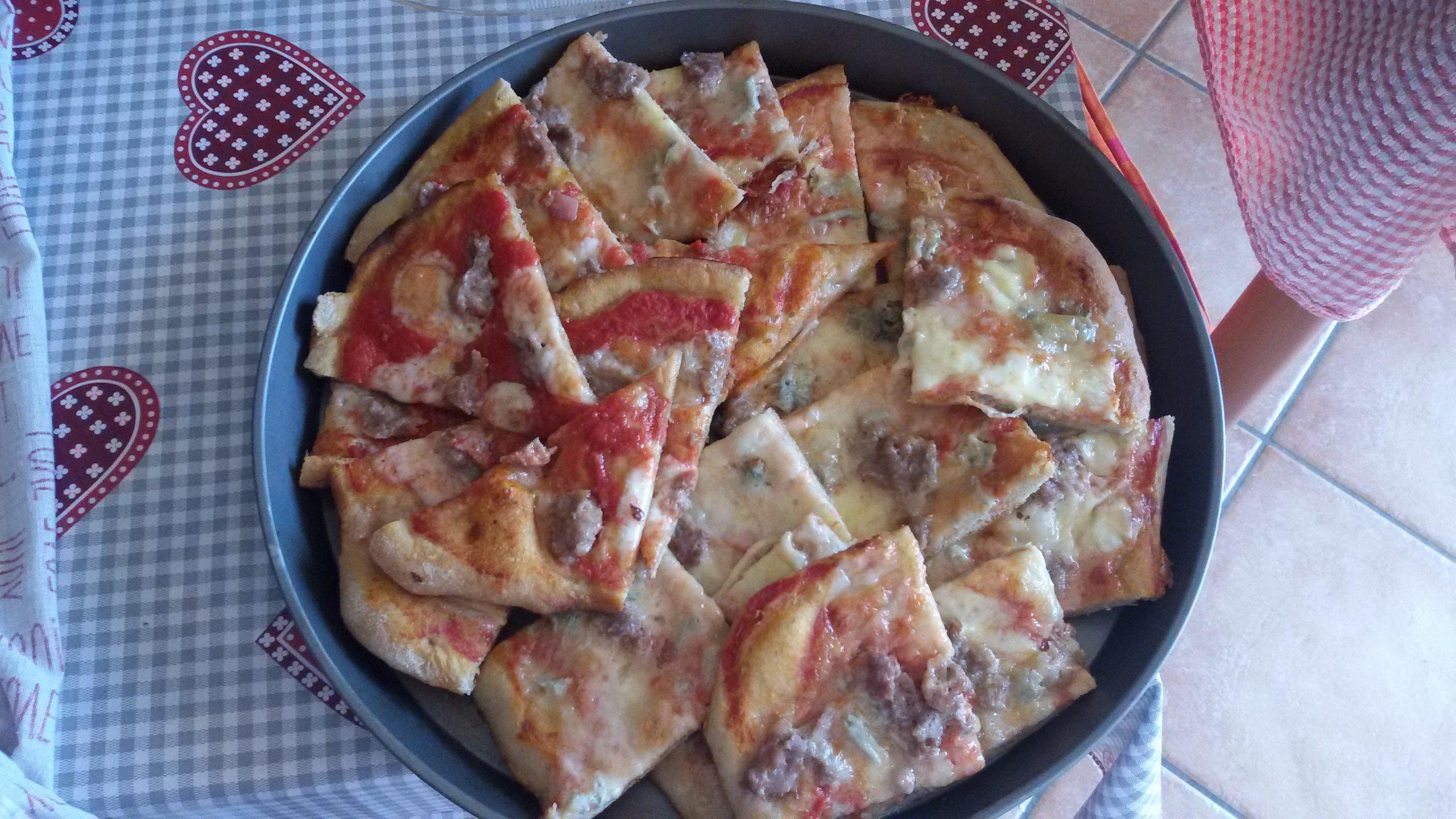 Come fare la pizza integrale fatta in casa