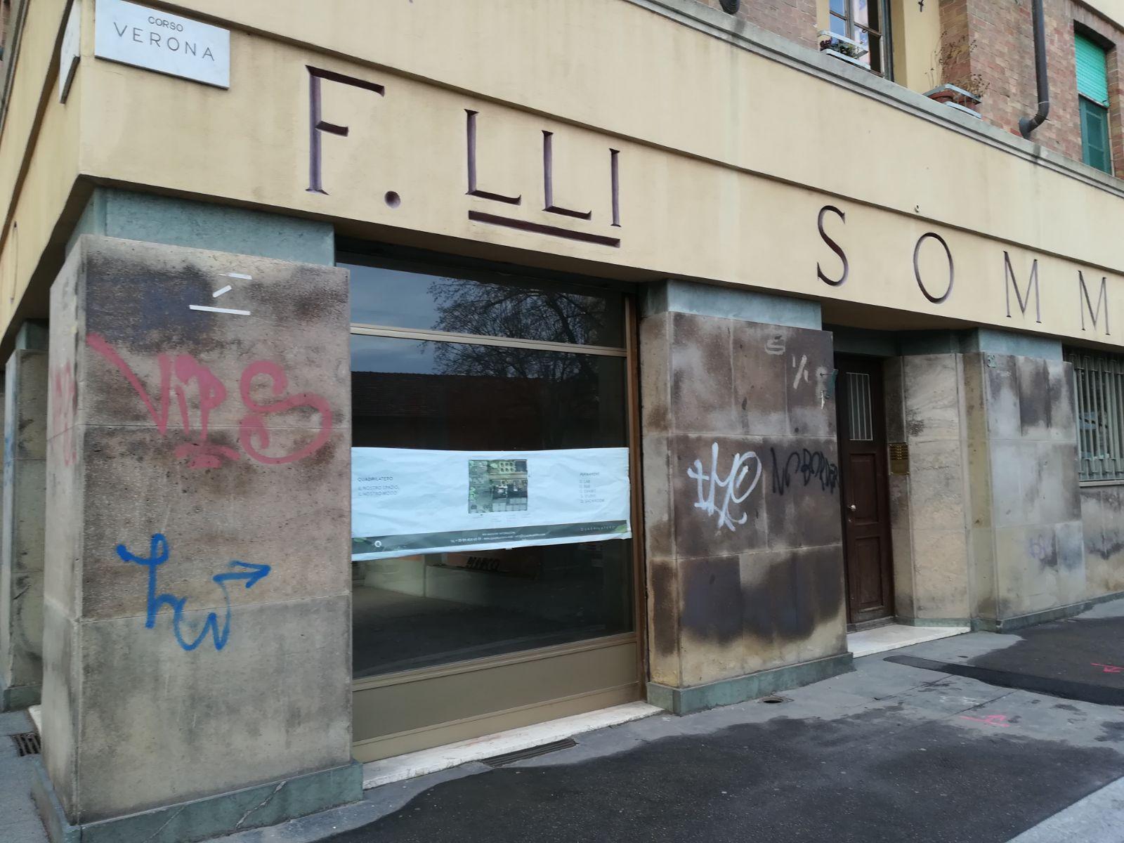 Quadrilatero sbarca in Borgo Rossini