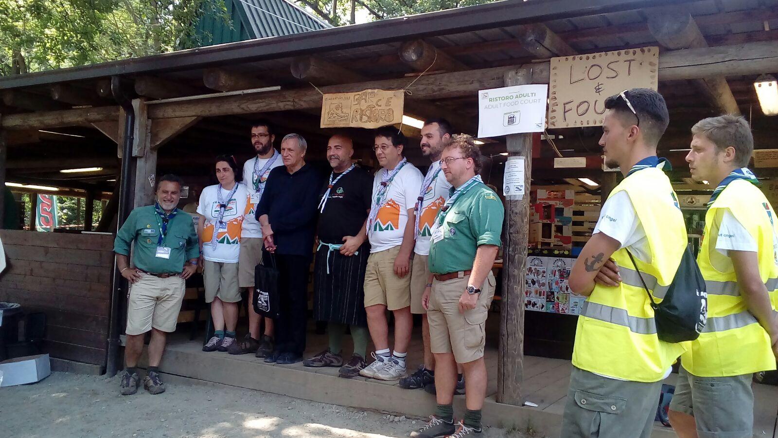 Don Ciotti al Campo Nazionale degli Scout a Vialfrè