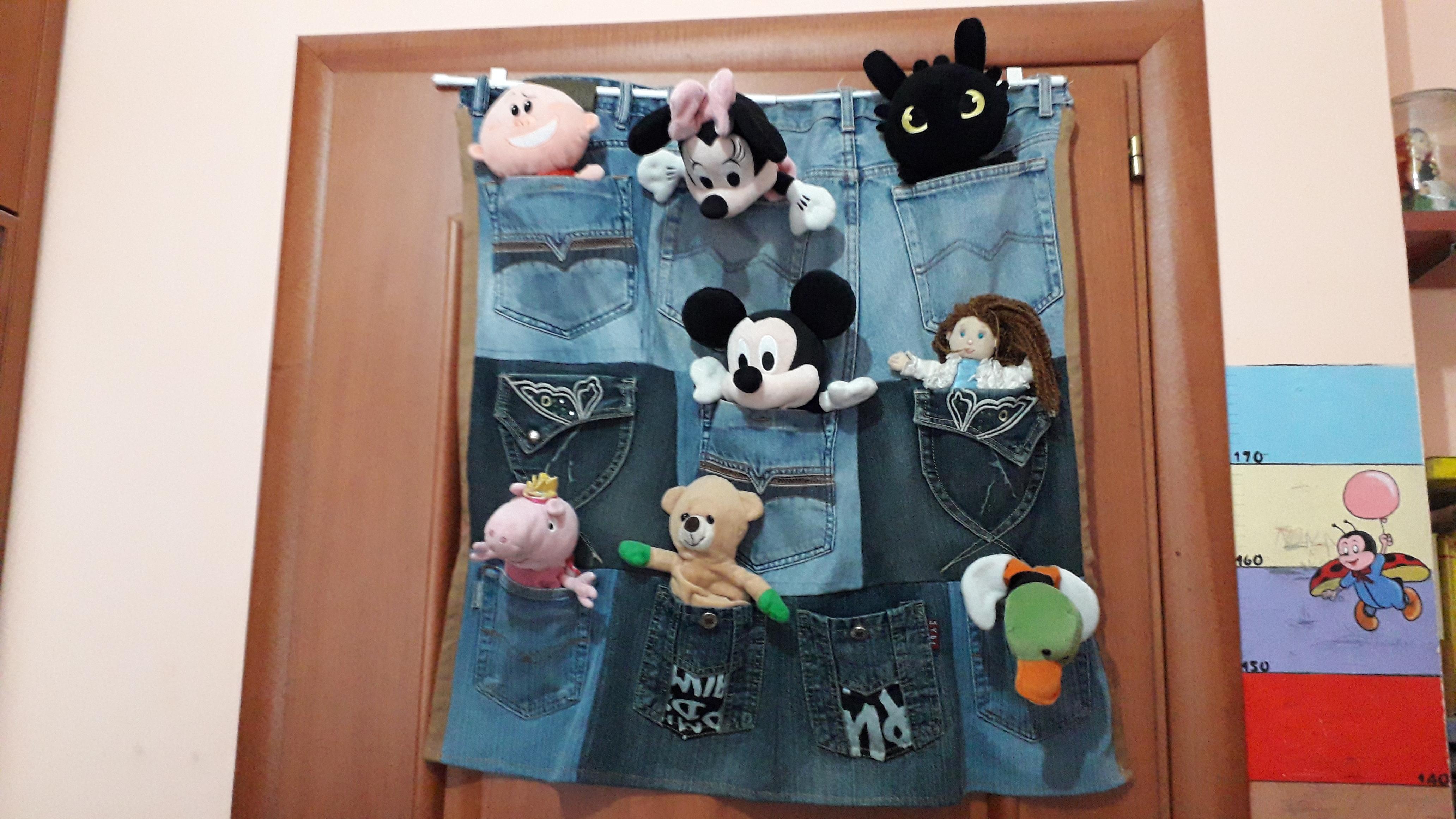 Multitasche di jeans come… portatutto!