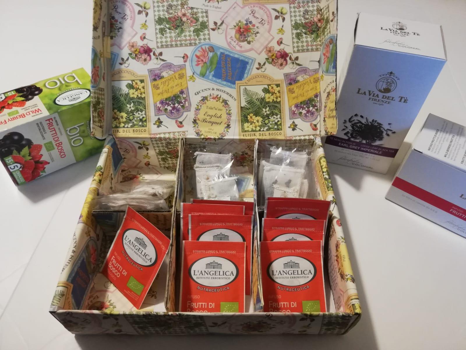 Come realizzare da sole una scatola porta té