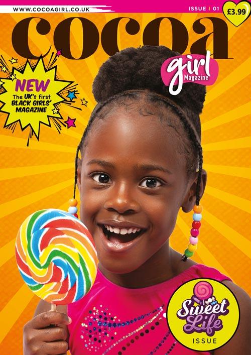 Cocoa Girl, la prima rivista per bambine di colore. Finalmente!