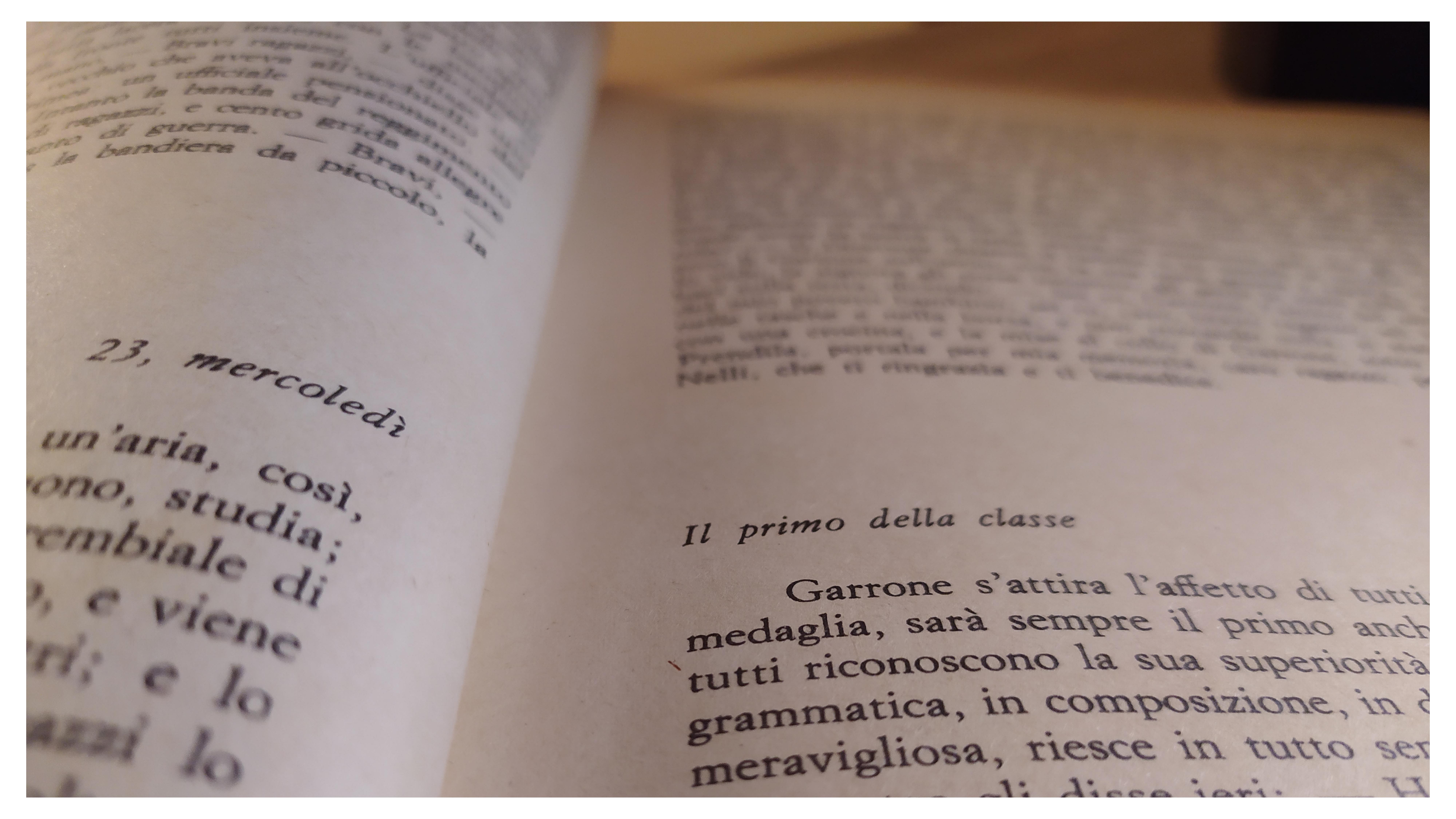 Libro Cuore festeggia 134 anni. Buon compleanno!