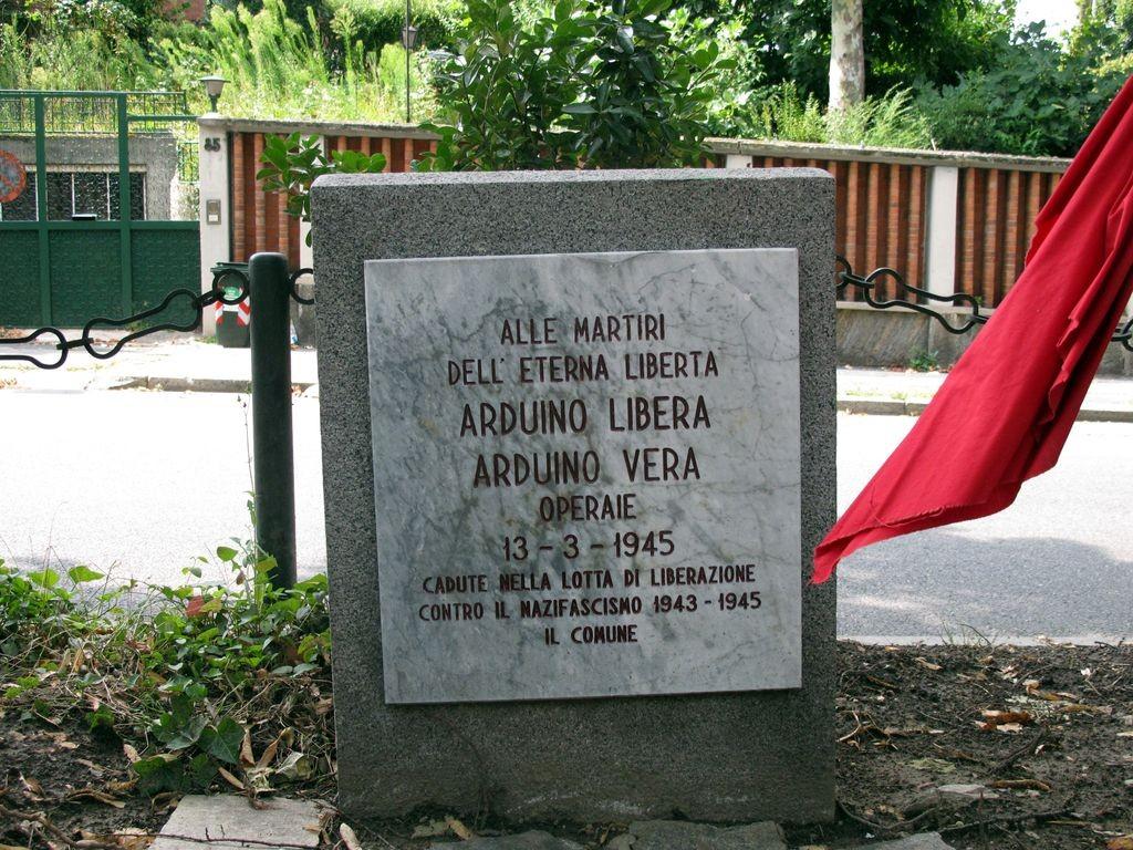 Vera e Libera Arduino, scuola e stele non bastano per ricordarle